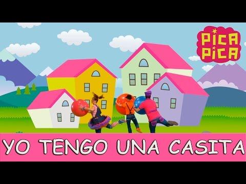 Pica-Pica - Yo tengo una casita (Videoclip oficial)