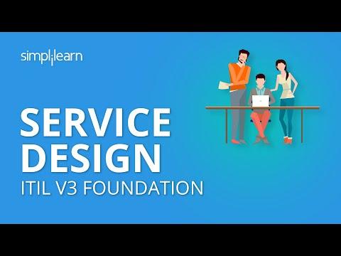 Service Design | ITIL V3 Foundation | ITIL Basics | Simplilearn