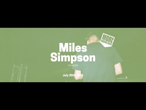 More Downstairs w/ Miles Simpson