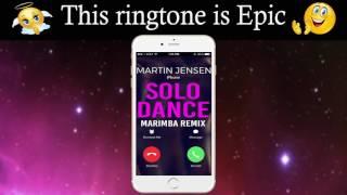 "Enjoy marimba remix of solo dance: http://smarturl.it/solodancemnd best iphone 7 ringtone martin jensen's ""solo dance"" for your android/iphone! **********..."