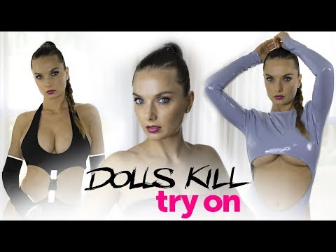 DOLLS KILL MINI DRESS, LINGERIE AND NOT ONLY |TRY ON AND REVIEW