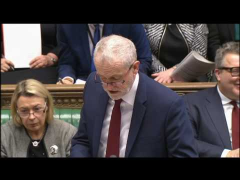 Prime Minister's Questions: 22 February 2017