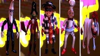 Mac Tonight and The Forgotten Ones: ALL Animatronics (EXTRAS)