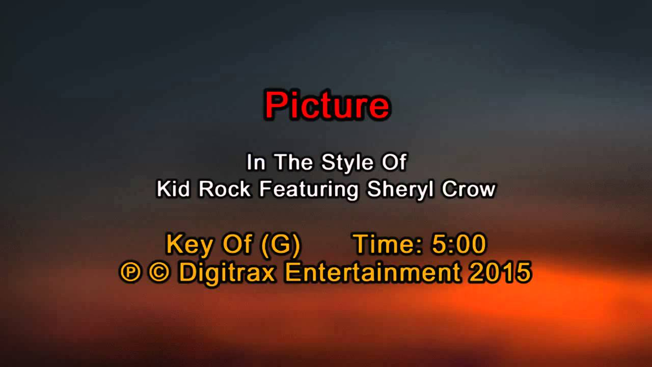 Kid rock ftg sheryl crow picture backing track youtube hexwebz Choice Image