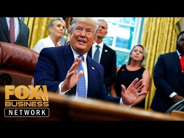 President Trump touts tariffs as very powerful tool