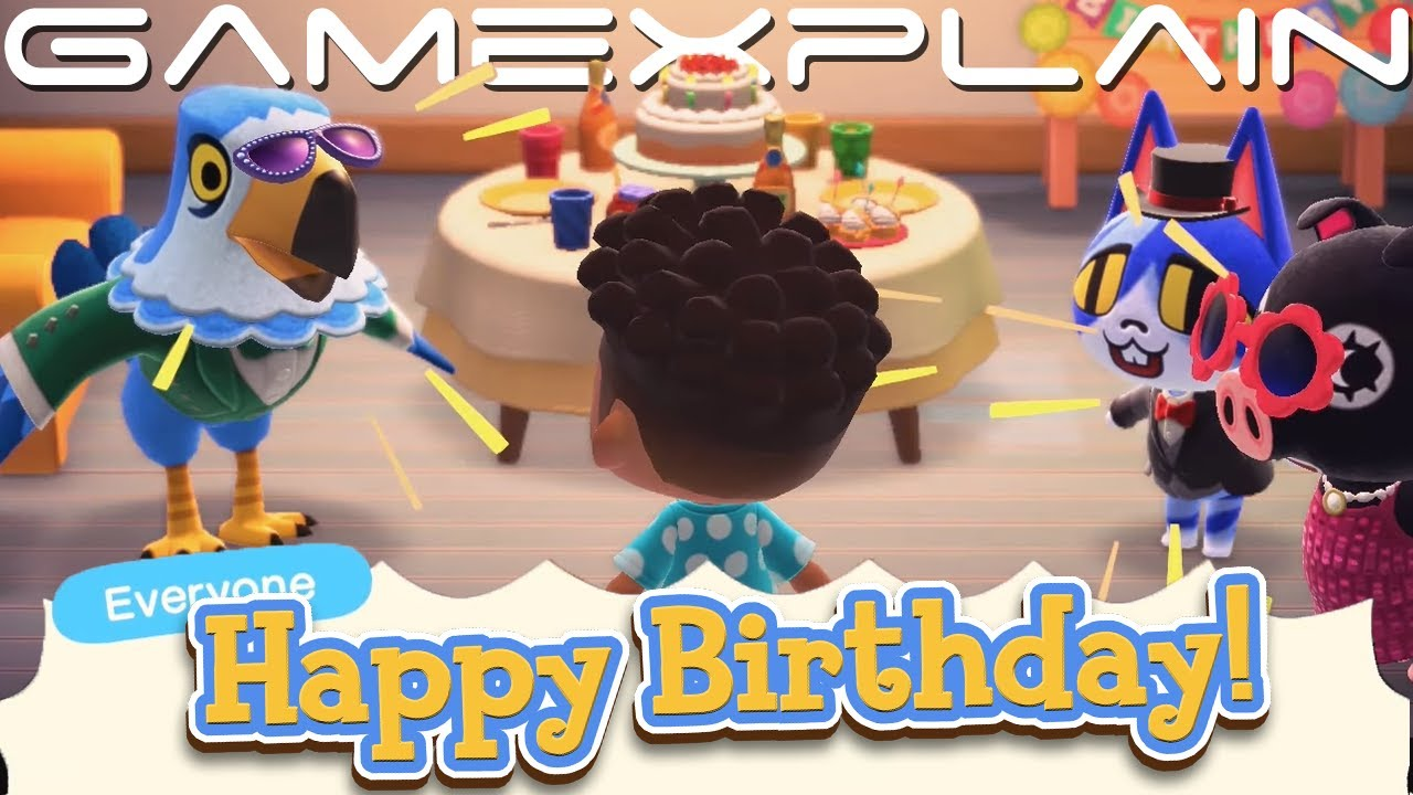 This Is How Birthdays Work In Animal Crossing New Horizons