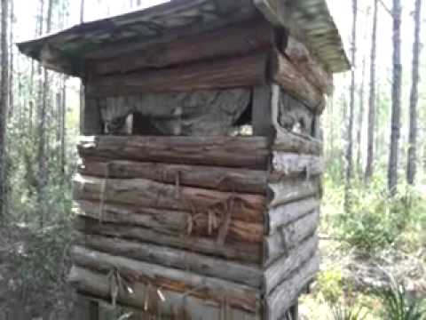 Log Cabin Style Shooting House 2013 09 29 Youtube