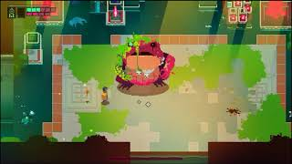 Hyper Light Drifter - Giant creepy frog Boss - 60 fps