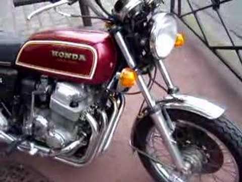 Honda Cb750 Four F1 1976 - YouTube