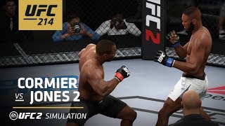 UFC 214 | EA SPORTS UFC 2 Simulation – Cormier vs Jones 2
