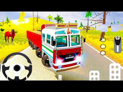 Indian Truck Offroad Cargo Drive Simulator Games | Truck Driving Simulator – Android Gameplay #1