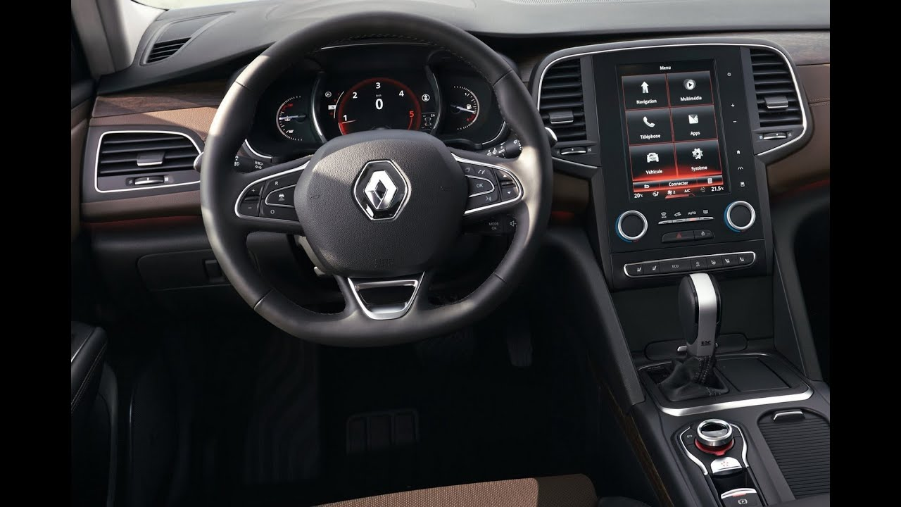 2016 renault talisman interiors youtube