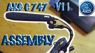 How to assemble AKG C 747 V11 professional condensor microphone