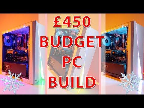 £450 Gaming PC in the Aerocool Cylon