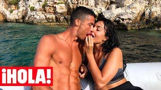 La romántica cena de Georgina Rodríguez y Cristiano Ronaldo