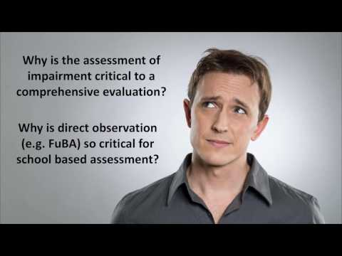 Assessment of Functional Impairment with Dr. Sam Goldstein