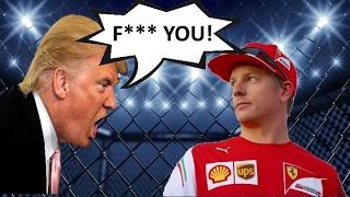 Kimi Raikkonen vs Donald Trump (Team Radio)