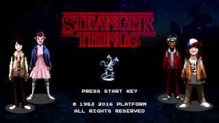 Stranger Things - Retro Game Intro