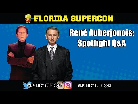 René Auberjonois Q&A at Florida Supercon 2016
