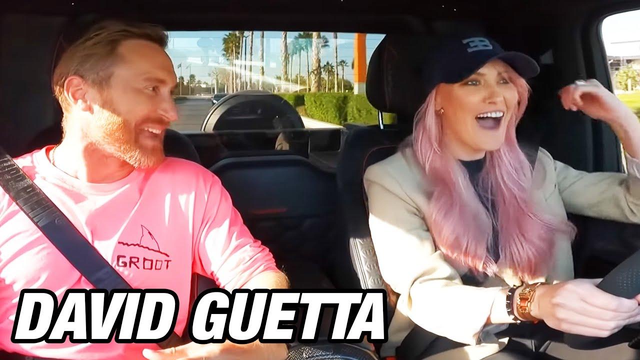 SURPRISING DAVID GUETTA WITH ULTRA RARE CAR!