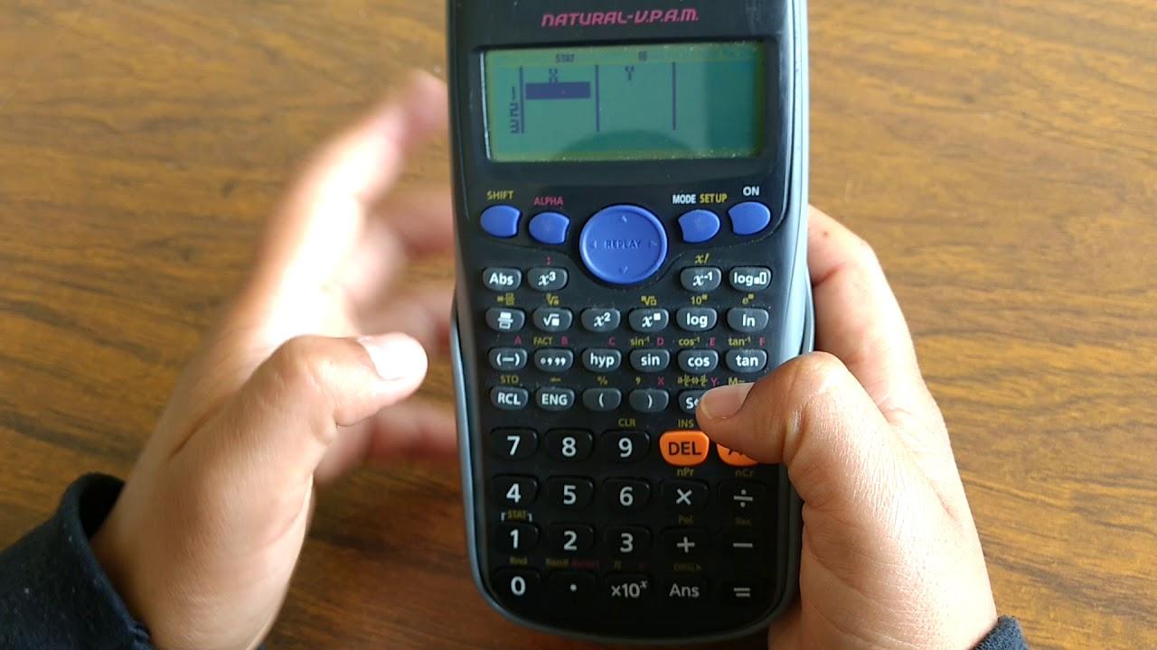 Calculadora casio fx-140 con manual. Funciona vendido en venta.