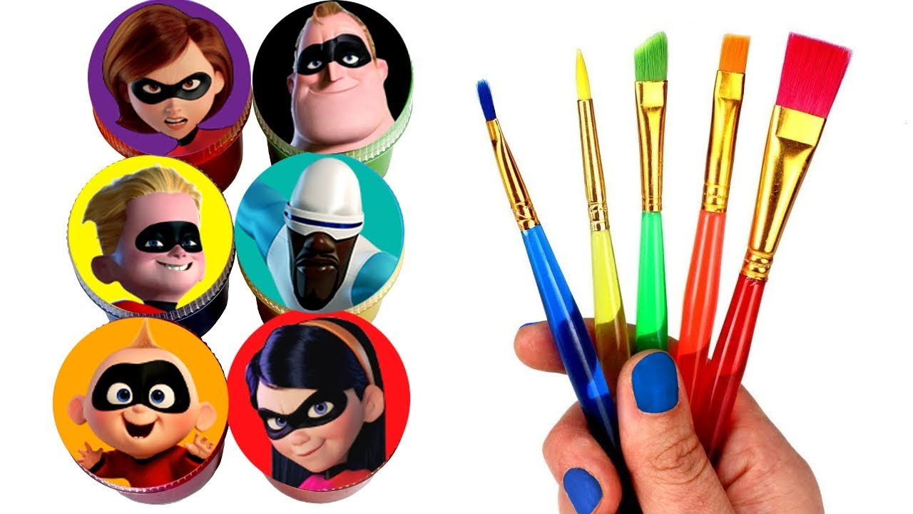 The Incredibles 2 Drawing and Painting Jack-Jack Violet ...