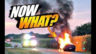 Hellcat Burns. Arrested. Fired. Family Cruisin Return...