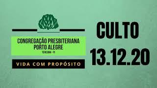 CULTO 13.12.2020