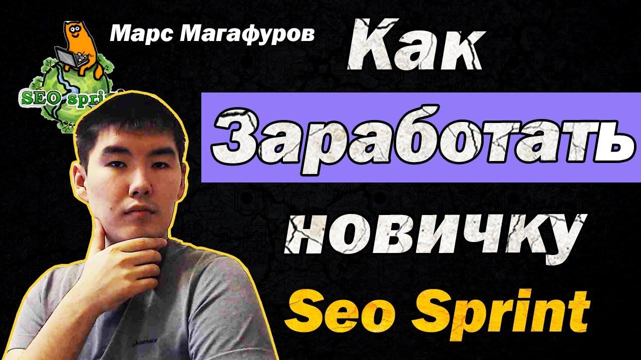 Как заработать деньги новичку в интернете без вложений сидя дома Лучший букс Seo Sprint Сео спринт