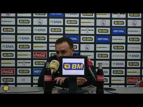 Jornada 11. Rueda de prensa post de Jose María Salmerón, entrenador del Burgos CF