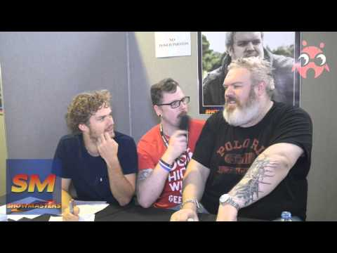 LFCC 2015 - INTERVIEW WITH KRISTIAN NAIRN & FINN JONES ( Game of Thrones)