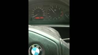 BMW e36 316i broute bas régime