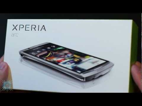 [HD] Sony Ericsson Xperia Arc Unboxing