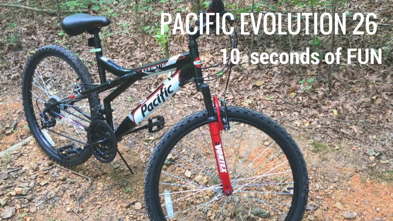 Pacific Evolution 26 Mountain Bike From Kmart 10 Seconds On