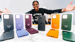 Unboxing All iPhone 13 Pro Leather Cases + Magsafe (All Colors)