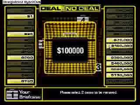 Deal or No Deal Game Deal or No Deal TV Game Online Deal or No Deal Game