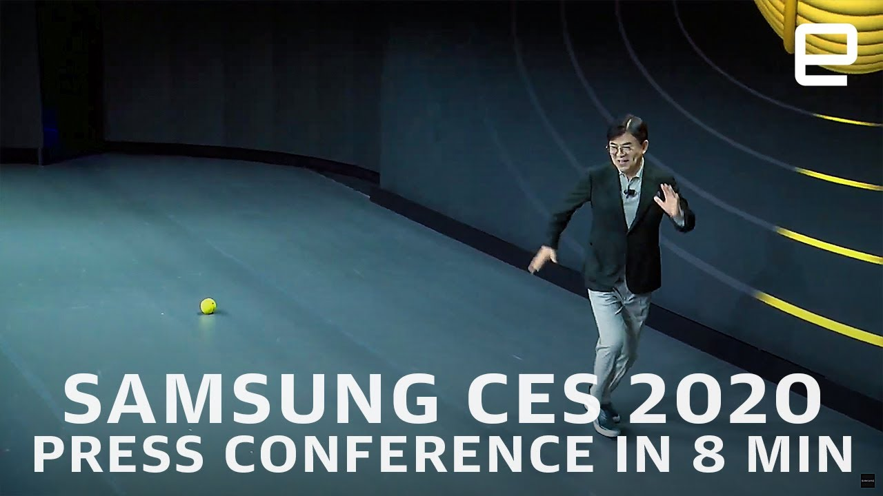 Samsung at CES 2020 in 7 minutes