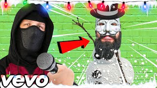 PZ9 CHRISTMAS SONG!🎄 (MELVIN THE FROSTY SNOWMAN!) CHAD WILD CLAY CWC VY Qwaint Project Zorgo Hacker