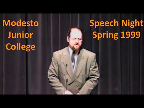Speech Night Spring 99