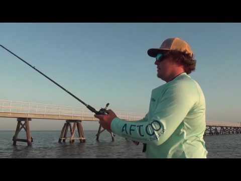 Speckled trout crowd south shore of Lake Pontchartrain