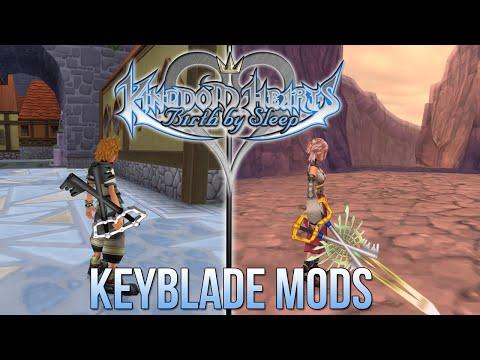 Kingdom Hearts Birth By Sleep - Keyblade Mods