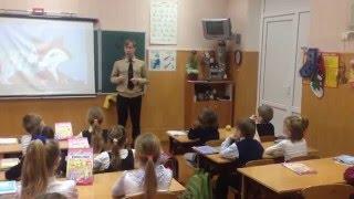 Сотрудники Ильичевского ГСЧСпроводят уроки с детьми