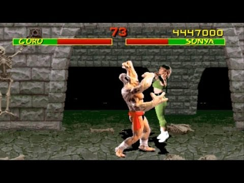 Mortal Kombat 1 arcade Sonya gameplay Playthrough