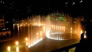 Dubai Fountain, New Year's Eve 2011