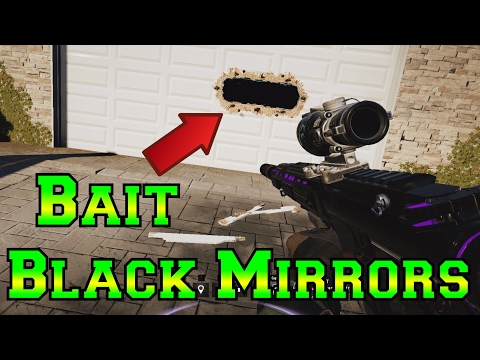 The Black Mirror BAIT - Rainbow Six Siege Velvet Shell