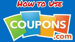 How to Use the Coupon.com App