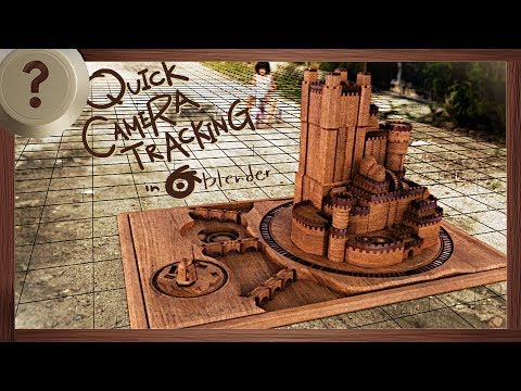 Quick Camera Tracking - BLENDER HOW TO | VISUAL EFFECTS