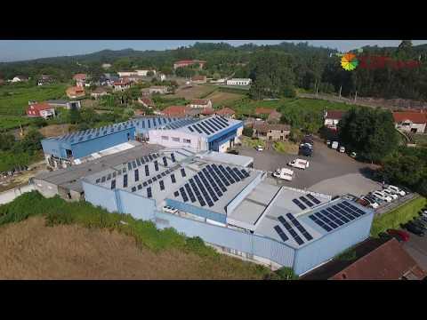 Instalación de autoconsumo industrial en Montiño (Pontevedra) - EDF Solar