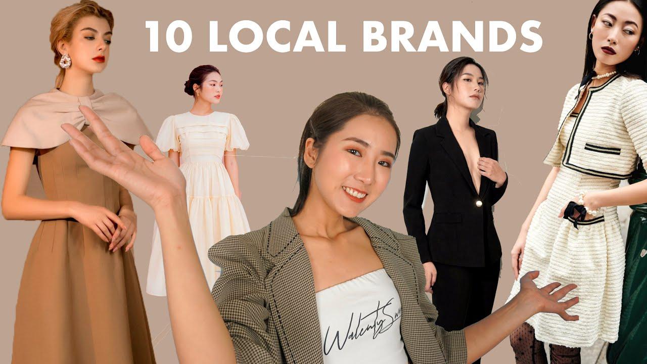 10 thương hiệu thời trang nữ thử ngay điiii | 10 LOCAL BRANDS VIETNAM | From Sue | Tất tần tật thông tin về thời trang nữ