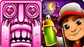 Temple Run 2 VS Subway Surfers iPad Gameplay for Children HD #166